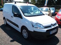 USED 2012 12 CITROEN BERLINGO 1.6 625 LX L1 HDI 1d 74 BHP EXCEPTIONAL EXAMPLE THROUGHOUT, GREAT M.P.G, DRIVES SUPERBLY, READY FOR WORK, NO VAT !!