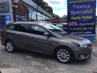 2015 FORD FOCUS 1.5 TITANIUM TDCI 5d 118 BHP, only 20000 miles, 1 owner £10995.00