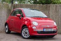 2015 FIAT 500 1.2 LOUNGE 3d 69 BHP £7000.00