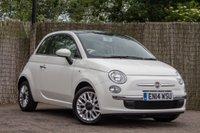 2014 FIAT 500 1.2 LOUNGE 3d 69 BHP £6250.00