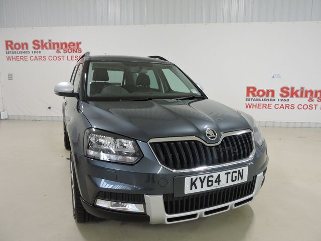 View our 2015 64 SKODA YETI 2.0 OUTDOOR SE TDI CR 5d 109 BHP