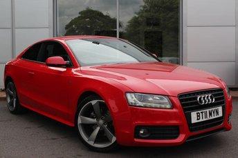 2011 AUDI A5 2.0 TDI S LINE BLACK EDITION 2d 168 BHP £9985.00