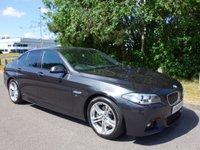 2013 BMW 5 SERIES 2.0 520D M SPORT 4d AUTO 181 BHP £15490.00