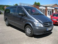 2014 MERCEDES-BENZ VITO 2.1 113 CDI TRAVELINER LWB 5d AUTO 136 BHP 8 SEATER £15995.00