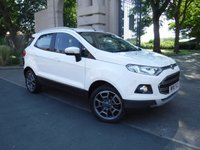 USED 2015 15 FORD ECOSPORT 1.5 TITANIUM X-PACK TDCI 5d 88 BHP *** FINANCE & PART EXCHANGE WELCOME *** 1 OWNER £ 30 ROAD TAC FULL BLACK LEATHER AIR/CON BLUETOOTH PHONE CRUISE CONTROL