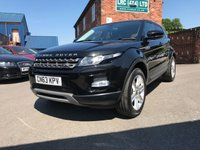 USED 2013 63 LAND ROVER RANGE ROVER EVOQUE 2.2 SD4 PURE TECH 5d 190 BHP Full service history