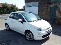 USED 2016 16 FIAT 500 1.2 LOUNGE 3d 69 BHP One Former Owner