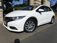 USED 2012 62 HONDA CIVIC 1.8 I-VTEC ES 5d AUTO 140 BHP *** FINANCE & PART EXCHANGE WELCOME***1 OWNER*REVERSE CAMERA*A/C*CRUISE*BLUETOOTH PHONE