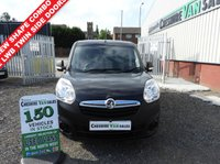 USED 2017 17 VAUXHALL COMBO 1.6 L2H1 2300 CDTI S/S 105 BHP LWB TWIN SIDE DOORS NEW SHAPE L2 LWB CRUISE CONTROL
