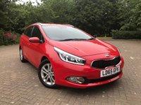 2015 KIA CEED 1.6 CRDI 2 5d AUTO 126 BHP £9495.00