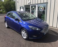 USED 2016 66 FORD FOCUS 1.0 ZETEC NAVIGATOR ECOBOOST 125 BHP THIS VEHICLE IS AT SITE 2 - TO VIEW CALL US ON 01903 323333