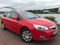 USED 2011 61 VAUXHALL ASTRA 1.6 EXCLUSIV 5d AUTO 113 BHP **RARE AUTOMATIC ESTATE**