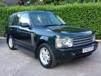 2003 LAND ROVER RANGE ROVER 2.9 TD6 HSE 5d 175 BHP £3975.00