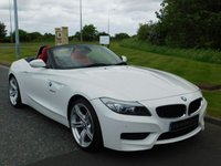 USED 2013 13 BMW Z4 2.0 Z4 SDRIVE28I M SPORT ROADSTER 2d 242 BHP RED LEATHER, 1 OWNER, BMWSH