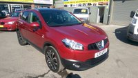 USED 2011 11 NISSAN QASHQAI 2.0 N-TEC 5d AUTO 140 BHP IN METALLIC RED  APPROVED CARS ARE PLEASED TO OFFER THIS NISSAN QASHQAI 2.0 N-TEC 5D AUTOMATIC 140 BHP IN METALLIC RED WITH SAT NAV,PANORAMIC SUN ROOF AND MUCH MORE WITH A FULL DOCUMENTED SERVICE HISTORY SERVICED AT 6K, 14K, 19K, 30K, 42K, 57K, THIS VEHICLE IS IN A IMMACULATE CONDITION .