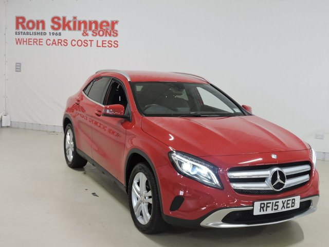 View our 2015 15 MERCEDES-BENZ GLA-CLASS 2.1 GLA220 CDI 4MATIC SPORT PREMIUM 5d AUTO 168 BHP