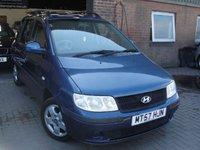 2008 HYUNDAI MATRIX 1.6 GSI 5d AUTO 102 BHP £SOLD
