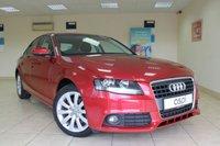 2009 AUDI A4 2.0 TDI SE 4d 143 BHP SALOON £6750.00
