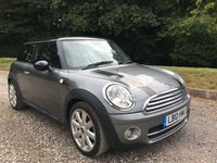 2010 MINI HATCH COOPER 1.6 COOPER D GRAPHITE 3d 108 BHP £5275.00