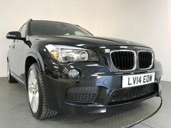 2014 BMW X1 2.0 SDRIVE20D M SPORT 5d 181 BHP £13495.00