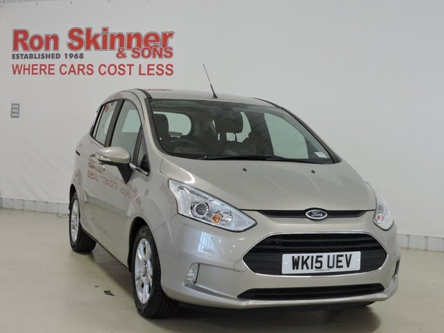 View our 2015 15 FORD B-MAX 1.0 ZETEC 5d 125 BHP