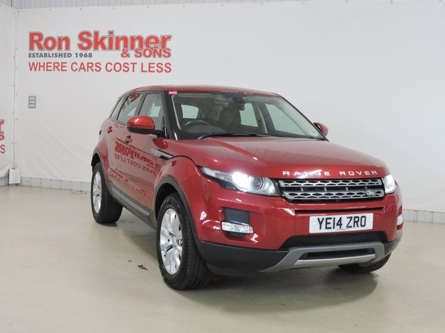 View our 2014 14 LAND ROVER RANGE ROVER EVOQUE 2.2 SD4 PURE TECH 5d AUTO 190 BHP