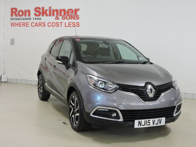View our 2015 15 RENAULT CAPTUR 1.5 DYNAMIQUE S MEDIANAV ENERGY DCI S/S 5d 90 BHP with Black Roof