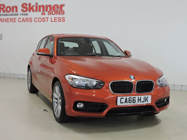 View our 2017 66 BMW 1 SERIES 1.5 118I SPORT 5d 134 BHP