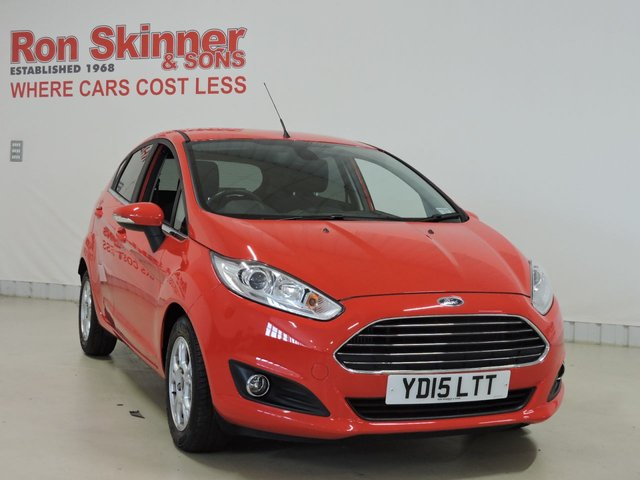 View our 2015 15 FORD FIESTA 1.6 TITANIUM ECONETIC TDCI 5d 94 BHP