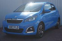 USED 2017 17 PEUGEOT 108 1.2 PURETECH ALLURE 3d 82 BHP ZERO ROAD TAX