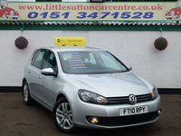 2010 VOLKSWAGEN GOLF 1.6 BLUEMOTION SE TDI 5d 103 BHP £6299.00