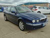 2002 JAGUAR X-TYPE 2.1 V6 SE 4d AUTO 157 BHP £1250.00