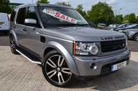 "USED 2012 62 LAND ROVER DISCOVERY 3.0 4 SDV6 COMMERCIAL 5d AUTO 255 BHP 5 SEATS REAR SEAT CONVERSION 5 SEATER ~ 20"" TWIN BLADE 5 SPOKE ALLOYS ~ SAT NAV ~ £250 ROAD TAX"