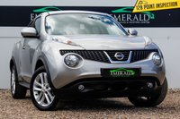 USED 2012 61 NISSAN JUKE 1.5 ACENTA SPORT DCI 5d 110 BHP £0 DEPOSIT FINANCE AVAILABLE, AIR CONDITIONING, AUX INPUT, BLUETOOTH CONNECTIVITY, CD/RADIO PLAYER, CLIMATE CONTROL, CRUISE CONTROL, CLOTH UPHOLSTERY, STEERING WHEEL CONTROLS, USB INPUT