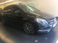 2014 MERCEDES-BENZ B CLASS 1.5 B180 CDI BLUEEFFICIENCY SPORT 5d 109 BHP £12995.00