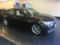 "USED 2013 13 BMW 5 SERIES 3.0 530D SE GRAN TURISMO 5d AUTO 255 BHP FULL BMW SERVICE HISTORY,  HUGE SPEC INCLUDING PAN ROOF, WIDE SCREEN NAV, 20"" ALLOYS"