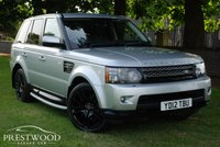 USED 2012 12 LAND ROVER RANGE ROVER SPORT 3.0 SDV6 HSE AUTO [255 BHP] 4x4