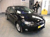 2014 FORD FOCUS 1.6 TITANIUM NAVIGATOR 5d AUTO 124 BHP £9995.00