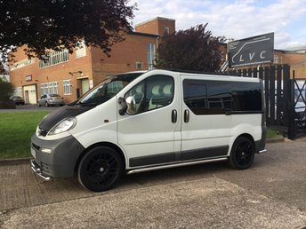 2005 VAUXHALL VIVARO 1.9 DI 2700 SWB KOMBI. 20'' ALLOYS. SPORT KIT. CHROME PACK. £3990.00