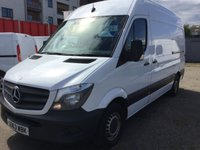 USED 2013 63 MERCEDES-BENZ SPRINTER 2.1 313 CDI MWB 1d 129 BHP