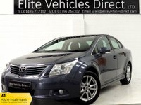 2011 TOYOTA AVENSIS 1.8 VALVEMATIC TR 4d 145 BHP £6491.00