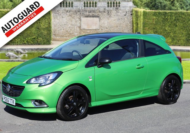 2015 65 VAUXHALL CORSA 1.2 LIMITED EDITION 3d 69 BHP