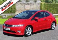 2009 HONDA CIVIC 2.2 I-CDTI TYPE S GT 3d 138 BHP £5995.00