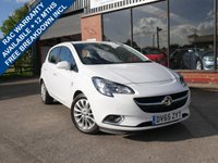 USED 2015 65 VAUXHALL CORSA 1.2 SE CDTI ECOFLEX S/S 5d 94 BHP ONE FORMER KEEPER FROM NEW, 2 KEYS, AIR CON, HEATED SEATS AND STEERING WHEEL