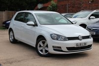 USED 2015 15 VOLKSWAGEN GOLF 1.4 MATCH TSI BLUEMOTION TECHNOLOGY 5d 120 BHP ****  BEAUTIFUL CONDITION LOW MILEAGE VOLKSWAGON GOLF ****