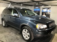 USED 2008 58 VOLVO XC90 2.4 D5 S AWD 5d AUTO 185 BHP 7-Seater  :  Part leather upholstery : Heated front seats    :    Rear parking sensors    :    Full service and MOT when sold