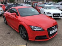 USED 2012 AUDI TT 2.0 TDI QUATTRO BLACK EDITION 2d 168 BHP PRIVATE PLATE STAYS WITH CAR