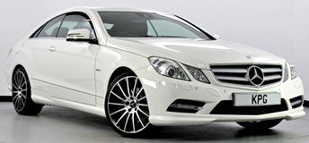 2012 MERCEDES-BENZ E CLASS 2.1 E250 CDI BlueEFFICIENCY Sport 7G-Tronic 2dr £11750.00