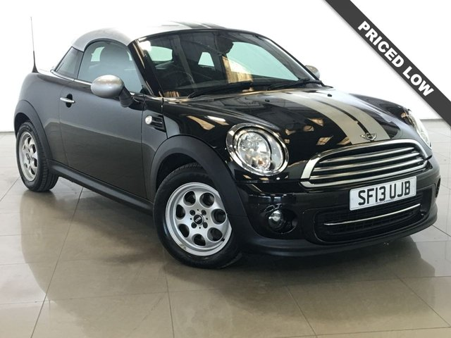 View our 2013 13 MINI COUPE 1.6 COOPER 2d 120 BHP