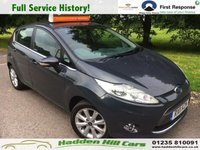 USED 2011 11 FORD FIESTA 1.2 ZETEC 5d 81 BHP Full Service History!